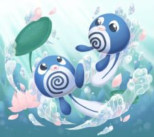 Poliwag pond by scilk
