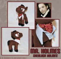 Mr. Holmes Pony Plush by s-k-roberts