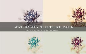 Waterlily Texture Pack by Marysse93