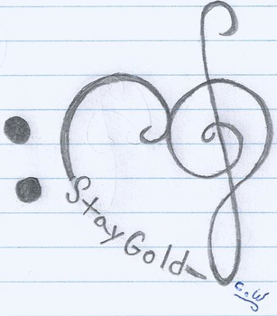 StayGoldMusicHeart Tattoo Idea 2 by sonic4465