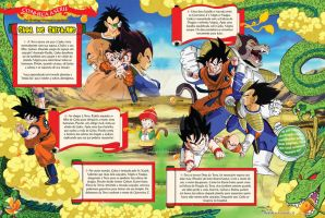 Dragon Ball Z - History Pages by 4ele