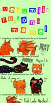 Mat's Fursona meme BY BROOKE by Dragon-V0942
