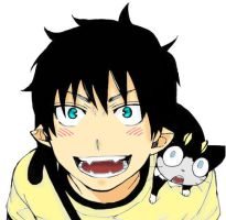Rin Okumura by Anonymous-Anime-Fan