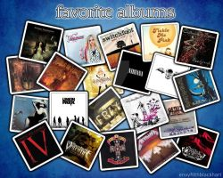 Favorite Albums by shimalahmed