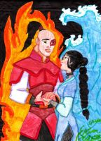 Mualn and Shang Zutara Style by dragonlily7