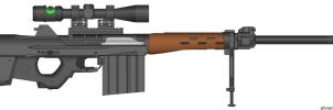 DC81A2 .50 cal. Sniper Rifle by dragonkiller38