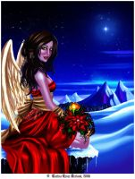 The Angel of Christmas by Xenonia