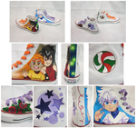 Painted Converse - Koko ver by glyfy