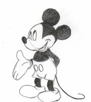 Mickey Mouse by Bambily