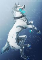 Like a snow by DiCakee