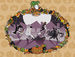 2014 Homestuck Calendar - October by saffronscarf