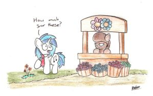 Flower Stall by bobthedalek