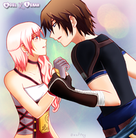 Serah...There Is Something Between Us... by Inspired-Destiny