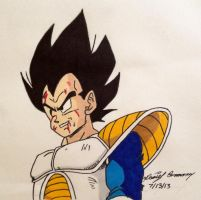 You can't defeat the PRINCE OF ALL SAIYANS! by gokujr96
