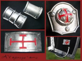 TRINITY BLOOD - AX agency decorations by AridelaAriadne
