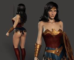 WONDER WOMAN (Cinematic version) by Furbs3D