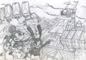 NNR: Epic Mickey by saber-th