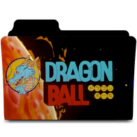 Dragon Ball Serie Movies Icon Folder 512 by AnxoX