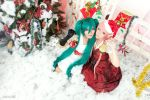 Christmas: Luka x Miku. by solatomato