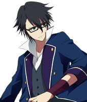 Fushimi Saruhiko Render [K Project] by miyu-zaki