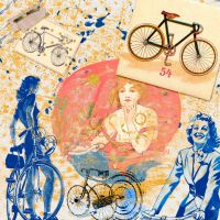 The bicycle by Rollinchen