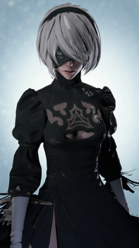 NieR:Automata - YoRHa No.2 Type B (2B) by lemon100