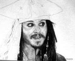 Captain Jack Sparrow WIP3 by Schoerie