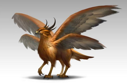 Griffin by NathanParkArt