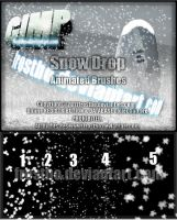 Snow Drop GIMP Animated 2012 SET II by FrostBo