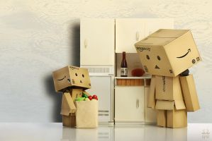 Here are the vegetables, Mom by Brigitte-Fredensborg