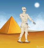 The Mummy by Louisetheanimator