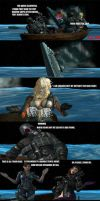 Out At Sea: (A Resident Evil Parody) by CharonA101