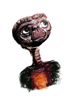 E.T. - The Extra Terrestrial by dctuck