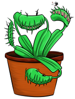 sassy flytraps by LucidDreamPop