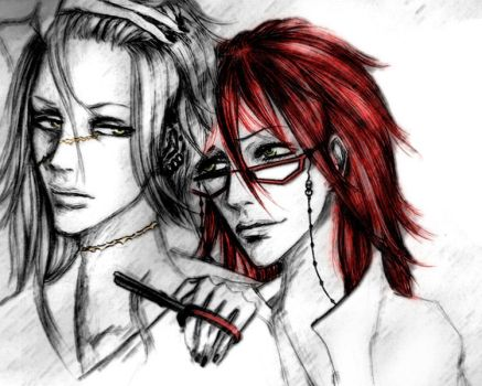Undertaker new hairstyle :D by CocaineJia