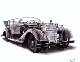 1106 - 1938 Mercedes-Benz 770K by TwistedMethodDan
