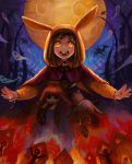 Halloween rabbit witch by chalii