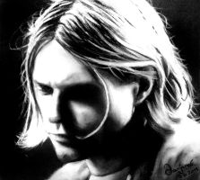 Kurt Cobain by eXceN3k