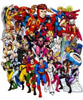 Legion of Super Heroes, Color by dalgoda7