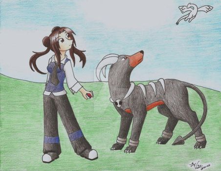 A Pokemon Trainer by charryblossom