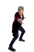 12th Doctor With New Sonic Screwdriver Render #4 by PietroRock