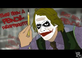 The Joker pencil trick by razorface123