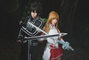 Sword Art Online - Strength and Courage by AmyDakota