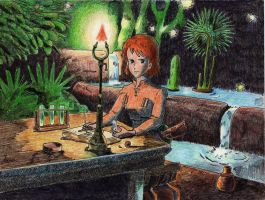 Nausicaa The valley of the wind 4 by erenmikasa