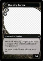MtG: Running Corpse by Overlord-J