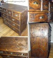 Commode d'apothicaire by GreatShinigami