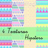 4 Texturas Hipsters by FedeLeMoglieEdition