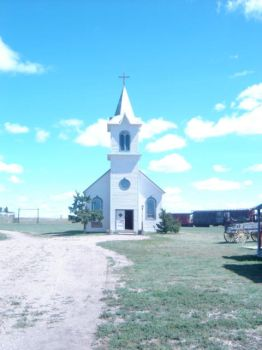 Old country church by Vitchard