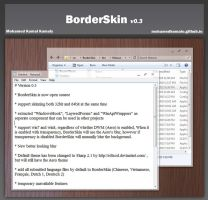 BorderSkin 0.3 - Aero Glass On XP/7/8 by komalo
