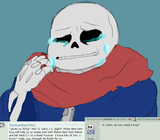 Ask Genocide Sans 2 by AskTheSanses